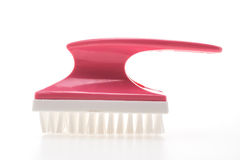 Brush for cleaning foot Stock Image