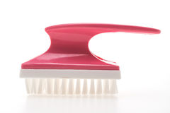 Brush for cleaning foot Royalty Free Stock Photography