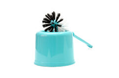 Brush for cleaning toilet bowls  Royalty Free Stock Photography