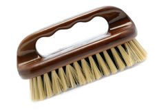 Brush for cleaning white isollated Royalty Free Stock Photo