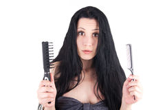 Brush or comb Stock Photo