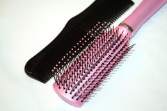 Brush & comb Stock Photo
