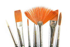 Brush drawing Stock Photos