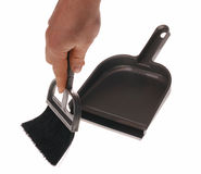 Brush and dustpan Stock Photography