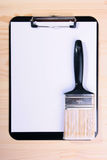Brush For Painting Royalty Free Stock Image