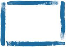 Brush Frame. Frame formed by brush strokes color stock illustration