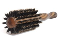 Brush for hair Stock Photography