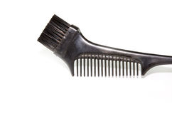 Brush hair dye Royalty Free Stock Photography