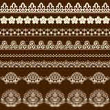 Brush lace Stock Photography