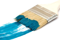 brush målarfärg Royaltyfri Fotografi