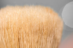 A brush. macro Stock Image