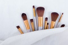 Brush make up stock photos