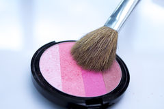 Brush make-up Royalty Free Stock Photo