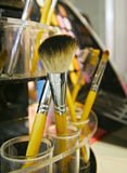 Brush make-up Royalty Free Stock Images