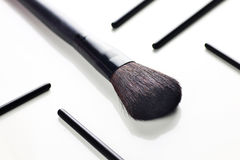 Brush for make up Stock Photos