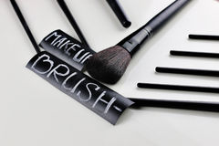 Brush for make up Royalty Free Stock Photos