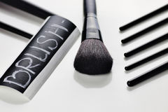 Brush for make up Stock Image