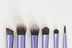 Brush make-up. Eye face beauty stock image
