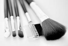 Brush makeup Stock Image