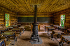Brush Mountain schoolhouse, Cumberland Gap National Park Royalty Free Stock Image