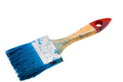 Brush in a paint Royalty Free Stock Photo