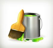 Brush and Paint Royalty Free Stock Photos