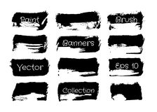 Brush Paint Collection vector illustration