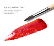 Brush and paint scratch stock photography
