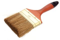 Brush for painting Royalty Free Stock Photography