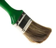 Brush for painting works Royalty Free Stock Images