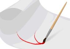 Brush paints Royalty Free Stock Image