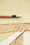 brush papper royaltyfri fotografi