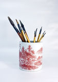 Brush Pen In A China Royalty Free Stock Photo