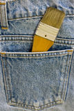 Brush in pocket Stock Photos
