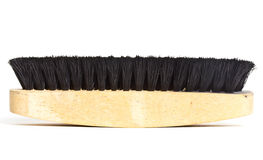 Brush for polishing shoes. Stock Images