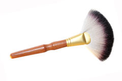 Brush for powder and blush Stock Photography