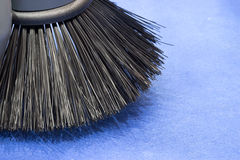 Brush of Road sweeper Royalty Free Stock Photography