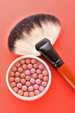 Brush and rouge Stock Photos