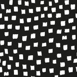 Brush seamless pattern.Vector background. Royalty Free Stock Images