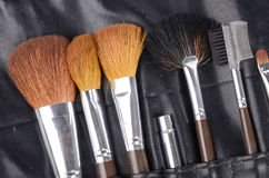 Brush set Stock Photography