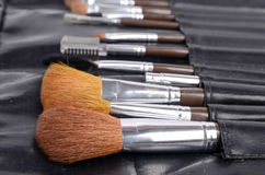 Brush set Stock Images