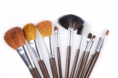 Brush set Stock Photo