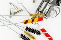 Brush Set Cleaning Gun Stock Image