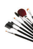 Brush set for make up Royalty Free Stock Photos