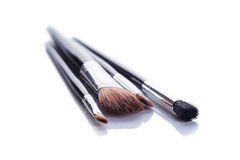 Brush set makeup Stock Photos