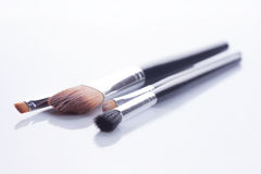 Brush set makeup Stock Images