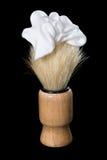 Brush for shaving Royalty Free Stock Photography
