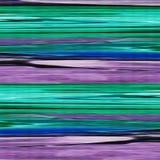 Brush stoke print in green violet. Colors Stock Image