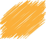 Brush stroke. Paint brush stroke on isolated background Royalty Free Stock Images