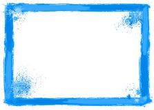 Brush stroke frame. Vector illustration of a brush stroke frame Stock Images